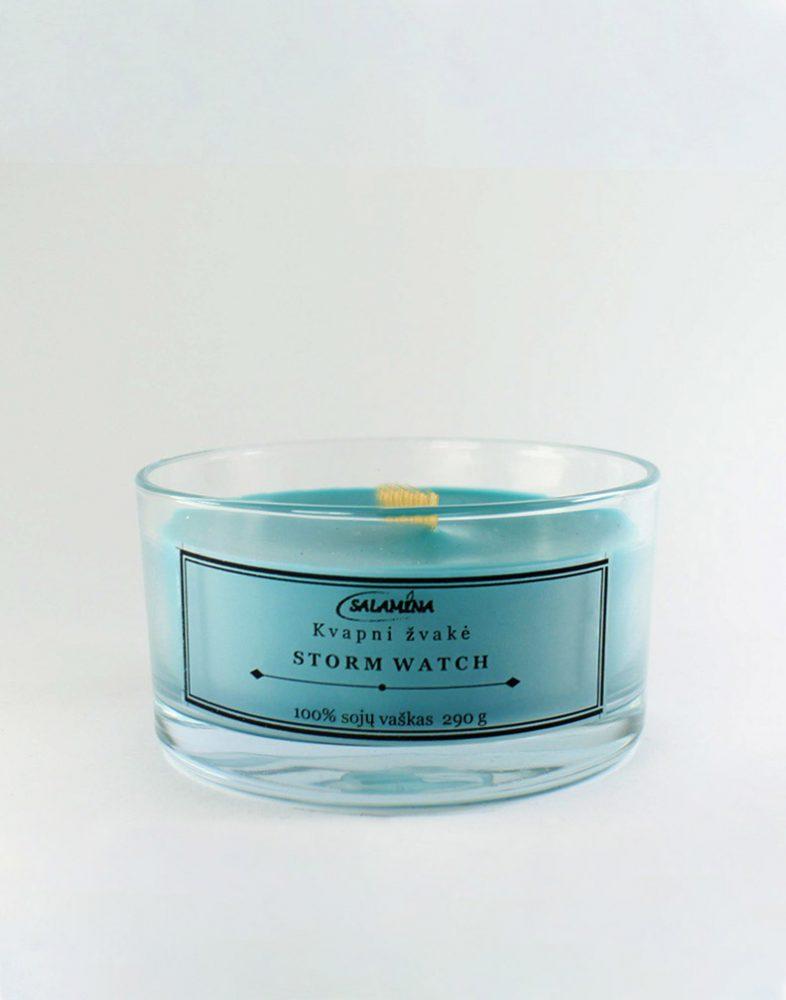 Sojų vaško kvapni žvakė