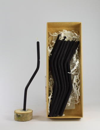 Bičių vaško žvakė