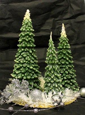 """Kalėdinė žvakė """"Eglutė"""""""