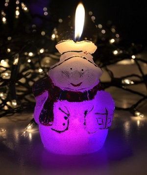 LED žvakė Eglutė