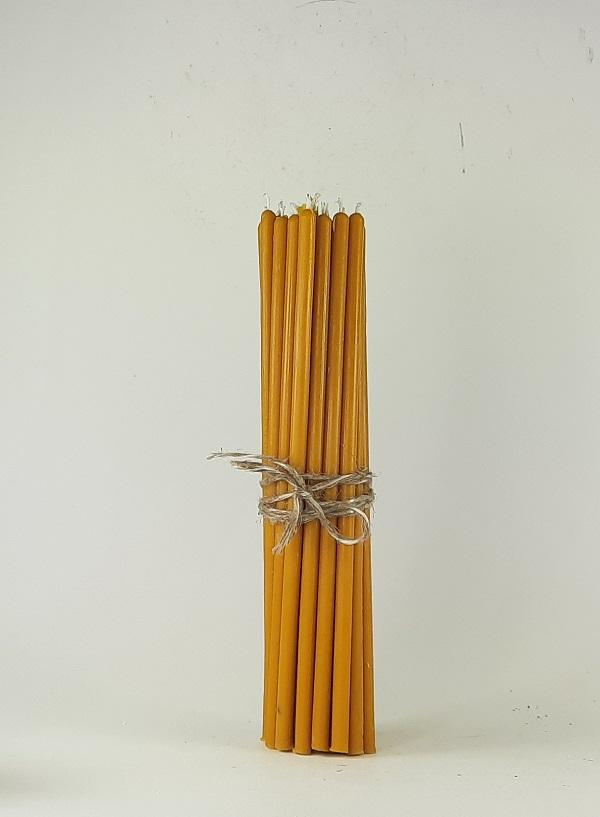 Bičių vaško žvakutės