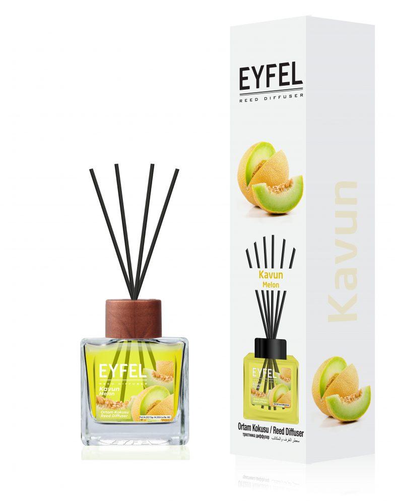 "Namų kvapas su lazdelėmis ""EYFEL120 ml."""